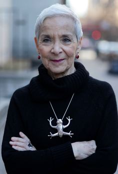 """I met new and creative people and found some amazing women my age (77 now) who love who they are, age be damned, and dress in original and liberating ways. They changed the way I think about my own aging."" ~Author and pianist Sheila Weinstein on moving to New York after the loss of her partner. ('Advanced Style' blog)"