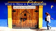For this packing list, two local residents offer travel tips to help you plan what to wear on your Colombia vacation. Trip To Colombia, Colombia Travel, Places To Travel, Places To Go, Travel Destinations, Costa Rica, Packing List For Vacation, Packing Light, What To Pack