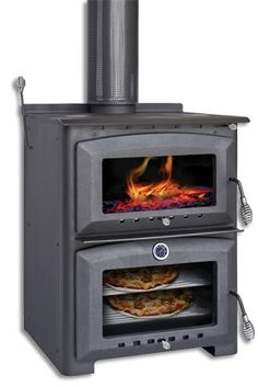 Scandia Indoor Wood Heater With Oven U0026 Stove