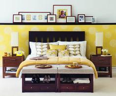 mid century modern bedroom decor retro