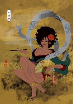 風神(Fujin) / Illustration bAbycAt