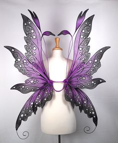 These fairy wings have been hand made as the perfect touch for your fairy costume, fairy themed wedding or fairy photography prop! Description from etsy.com. I searched for this on bing.com/images