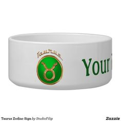 Taurus Zodiac Sign Bowl | 15% OFF anything | Enter coupon code ALLOVERSTYLE during checkout |. Good through April 6, 2016 11:59PM PT