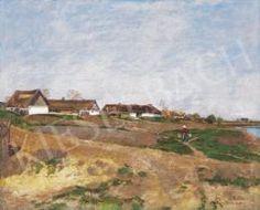 Fényes Adolf - Tavasz a Zagyva mentén Kiesel, Landscapes, Painting, Art, Paisajes, Art Background, Scenery, Painting Art, Kunst