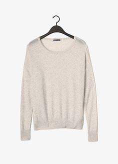 Square Cashmere Sweater   Vince