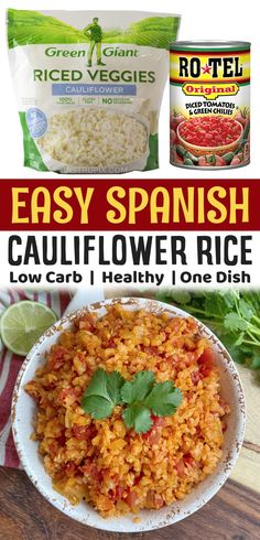 Rice Side Dishes, Low Carb Side Dishes, Veggie Side Dishes, Healthy Side Dishes, Side Dishes Easy, Side Dish Recipes, Food Dishes, Low Carb Recipes, Veggie Recipes Healthy