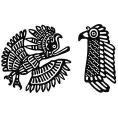 American eagle clip art tags flying bird fly black eagle for Aztec tattoo shop phoenix az