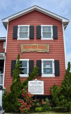 Teach's Hole Blackbeard exhibit - Ocracoke Island OBX
