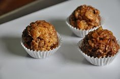 Lisa is Hungry: Peanut Butter Granola Bites