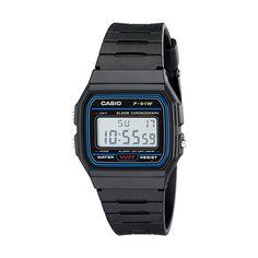 Casio Men's F91W-1 Classic Black Digital Resin Strap Watch #mens #watches