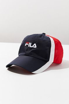 8b2d26993d2 FILA Colorblock Baseball Hat