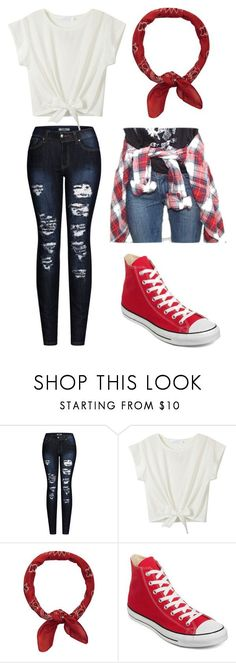 """Untitled #700"" by hallaveryh ❤ liked on Polyvore featuring 2LUV, Accessorize, ASOS and Converse"