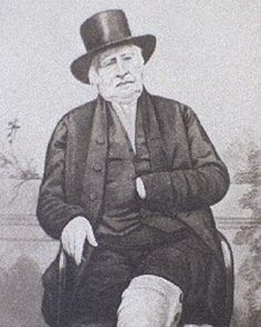 Edward Pease. He started the Stockton and Darlington Railway with his son Joseph Pease.