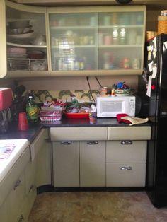 Steel Kitchen Cabinets Vintage