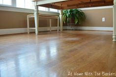 Dull hardwood floors come back to life with Quick Shine / athomewiththebarkers.com