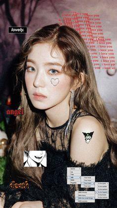 Rv Wallpaper, Velvet Wallpaper, Seulgi, Red Velvet Photoshoot, Red Velet, Picsart, Doodle Icon, Kpop Couples, Kids Icon