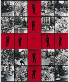 Gilbert and George, Mental No.3, Photo piece with 25 panels, Modern Art Museum of Fort Worth