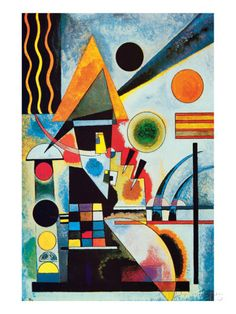 Balancement Premium Giclee Print by Wassily Kandinsky at AllPosters.com