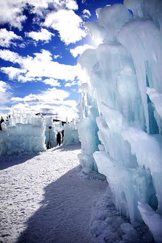 Take your little explorers on a family adventure through the Ice Castles in Silverthorne, Colorado.