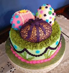 wow really cute cake #food and drink