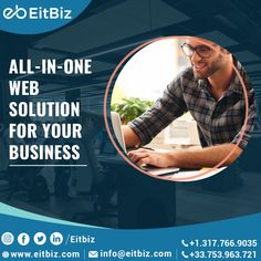 If you're looking for a website design company that can create a powerful and compelling website or Mobile App that exceeds expectations. EitBiz is a digital design and web development agency, and provides a full range of solutions as part of our web design and development. Contact us at +1.317.766.9035 or the way you want. #webdevelopment #mobileappdevelopment #mobiledesign Custom Website Design, Website Design Company, Mobile Web Design, App Design, Web Development Agency, Ecommerce Solutions, Good Communication, Digital Marketing Services, Service Design