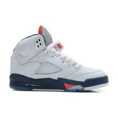 mens authentic air jordan 5 white varsity red obsidian retro basketball shoes