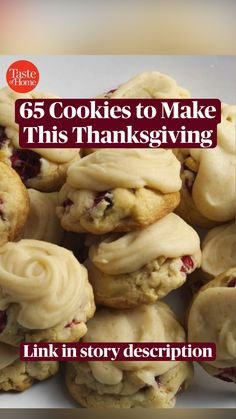 Thanksgiving Feast, Thanksgiving Recipes, Holiday Recipes, Cake Mix Recipes, Cookie Recipes, Dessert Recipes, Brownie Cookies, Cupcake Cookies, Healthy Comfort Food