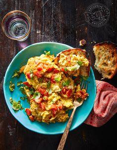 Floyd Cardoz's Indian-Style Scrambled Eggs