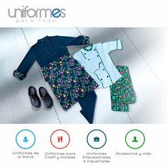 Creamos, diseñamos y bordamos uniformes y accesorios, de la más alta calidad, cumpliendo con las necesidades del mercado y de nuestros clientes. #Uniformes #ParaTodo