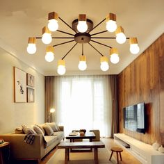 Lights & Lighting New Originality Personality Living Room Lamp Simple Modern Atmosphere Home Nordic Rectangular Warm Bedroom Lamp Led Ceiling Lam Ceiling Lights