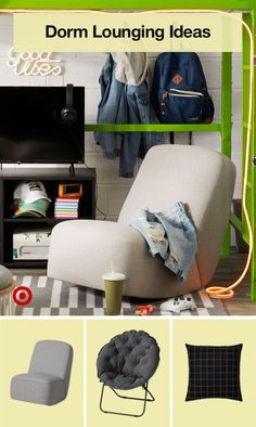 Create a space that matches your vibe with LED lights, dorm furniture & more sweet finds.