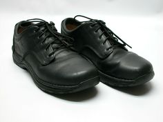 71a5cb6ea8 Red Wing Black Leather Oxfords 8703 Mens Sz 12E2 Soft Toe Slip   Oil  Resistant  RedWingShoes  WorkSafety