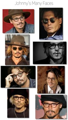 Johnny Depp Glasses: Style Icon | #theLOOK