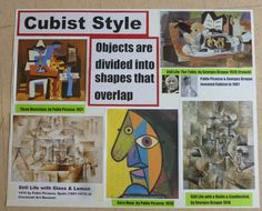 How I teach styles of art: Cubist
