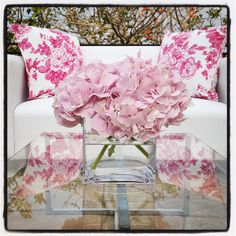 Floral cushions add a pop of Colour for Wedding reception lounge area at Fairmont Hotel Zimbali...