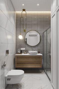 Bathroom Design Small, Bath Design, Bathroom Interior Design, Modern Baths, Basement Bathroom, Toilet, New Homes, Mid Century, Room Decor