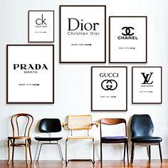 Fashion Designer Canvas Wall Art