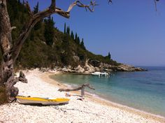 Orkos Beach, Paxos