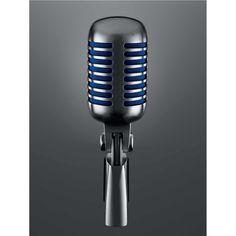 The Shure Super 55 Microphone combinant le design distinctif du modèle 55 original avec une nette amélioration de la performance audio