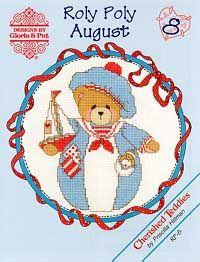 Roly Polys-August (Cherished Teddies)