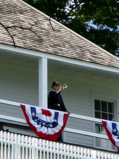 Mackinac Island Fort Mackinac Bugler