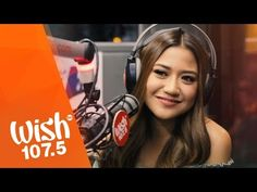 "Morissette Amon sings ""Mahal Naman Kita"" (Jamie Rivera) LIVE on Wish Bus Amon, Rivera, Philippine News, Call Her, Love Songs, Wish, Singing, Lyrics, Actresses"