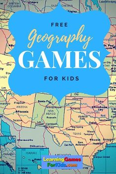 Geography Learning Games for Kids - Geography Education is part of life. It should be fun and challenging. Learn about geography while you play Geography Games For Kids, Geography Activities, Geography For Kids, Geography Lessons, Teaching Geography, Learning Games For Kids, World Geography, Teaching History, History Education