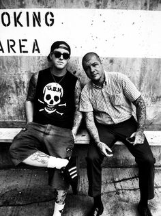 Tim Armstrong and Lars Frederiksen