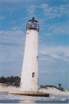 Cape St. George Lighthouse, St. George Island, FL