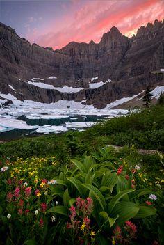 Iceberg Lake, Many Glacier, Montana