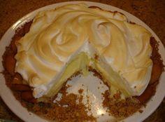 A Lemon Pie and Me (recipe: Old Fashioned Lemon Icebox Pie)