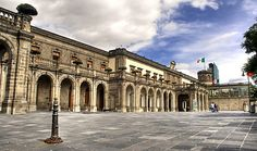 Chapultepec Castle, Mexico City, Mexico - Current palace started in 1864 by Maximilian I, Emperor of Mexico