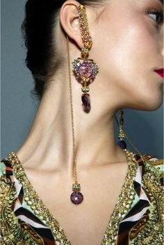 Heart of Gold earrings    https://www.perniaspopupshop.com/designers-1/manish-arora-for-amrapali