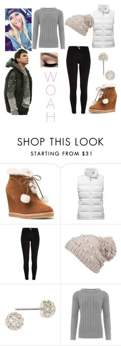 """""""Snow day with Hayes"""" by autumnrowland22 ❤ liked on Polyvore featuring Michael Kors, The North Face, River Island, prAna, Judith Jack, Aéropostale and WearAll"""